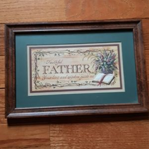 Home Interiors Faithful Father Picture